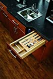 Rev-A-Shelf 4WTUD-18-SC-1 Complete System Two Tier Organizer Drawer with Accessories and Slides, Natural Wood