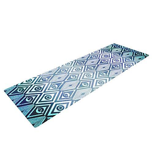 KESS inhouse Pom Graphic Design Esterilla de yoga mat, Tribal Empire, 72x 24-Inch