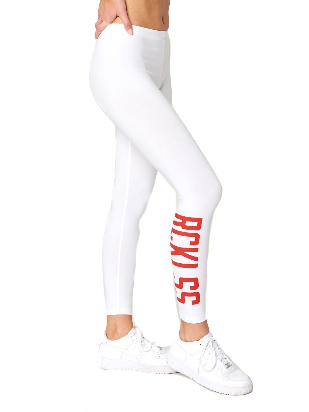 Young and Reckless - Adalynn Leggings - White - XL - Womens - Activewear - Leggings - White