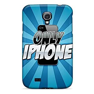 Fashion Tpu Case For Galaxy S4- Only Iphone Defender Case Cover