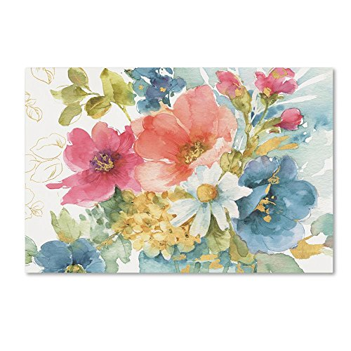 My Garden Bouquet I by Lisa Audit, 16x24-Inch Canvas Wall Art ()