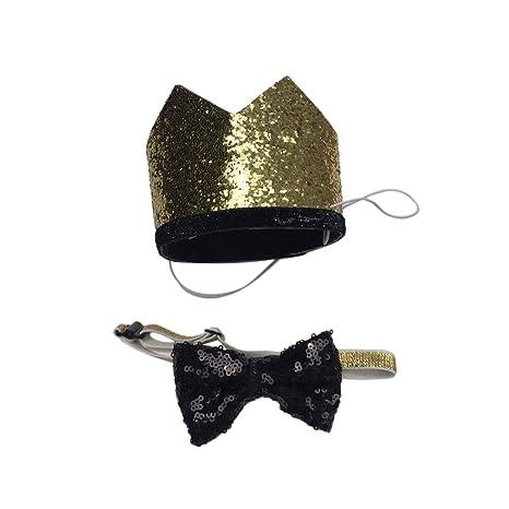 POPETPOP Sombreros de Cumpleaños para Mascotas, Sombreros de ...