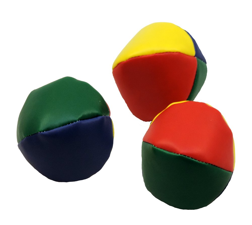 Professional 3 Piece Juggling Balls Set w Instructions