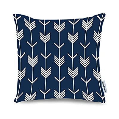 "Popeven Canvas Accent Arrow Pillows Home Decorative Cushion Cover 18 x 18"" Throw Pillow Case Bedding Cover"