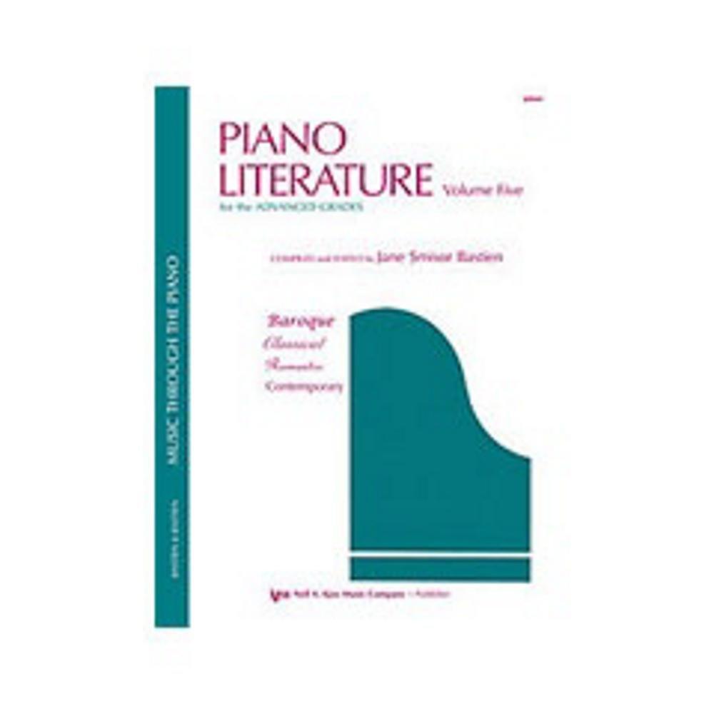 GP441 - Piano Literature Volume 5 - Bastien pdf