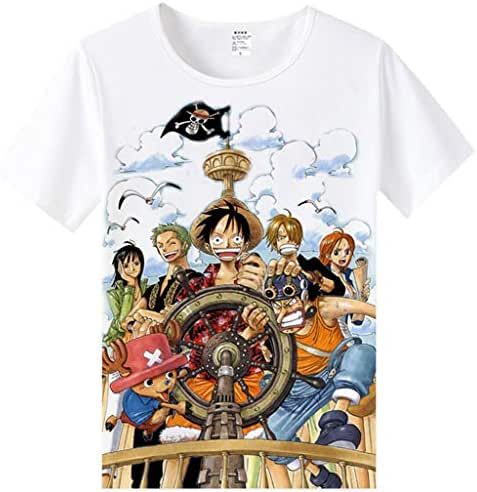 efe37da8 1 bình luận. Từ Mỹ. DUNHAO COS Anime One Piece Printed T-Shirt ...