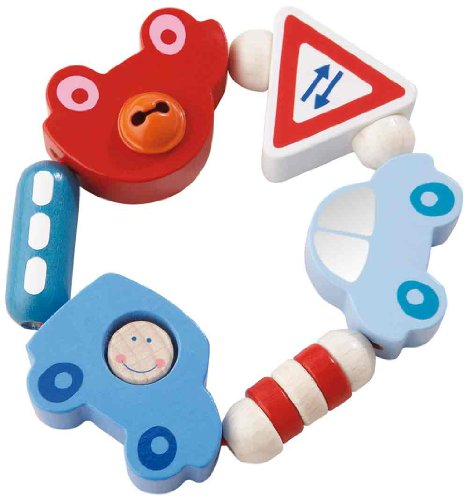 HABA Toot-Toot Clutching Toy (Made in Germany)