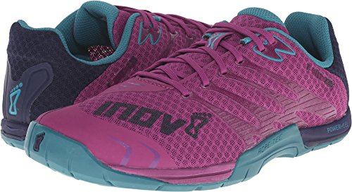 Inov-8 Women's F-Lite 235 Fitness Shoe, Purple/Teal/Navy, 7.5 B US