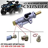 FLYPIG Rear Brake Master Cylinder for Polaris Sportsman 335 400 450 500 600 700 800 Magnum 325 330 500 Scrambler 400 500 Trail Blazer 250 330 400