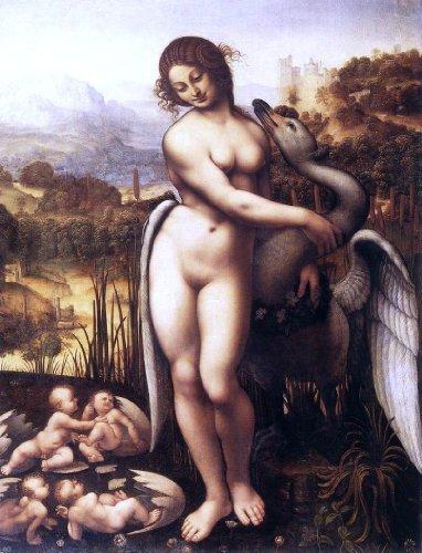 Leonardo Da Vinci Leda and the Swan - 21.05