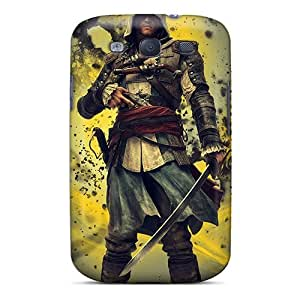 Galaxy Case - Tpu Case Protective For Galaxy S3- Assassins Creed 4