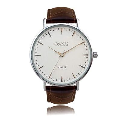 Hombres Simple Dial digital Diseño Reloj Superficie geométrica Cuarzo Caballeros Relojes: Amazon.es: Joyería