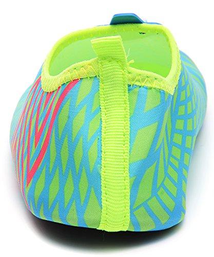 Odema Clearance Dames Loafers Dance Flats Schoenen Sneldrogend Lichtgewicht Huid Barefoot Waterschoenen Groen
