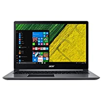 "Acer Swift 3 SF315-51-32GD Notebook con Processore Intel Core i3-7130U, RAM 4 GB DDR4, 256 GB SSD, Windows 10 Home, Display 15.6"" FHD IPS LCD, Silver"