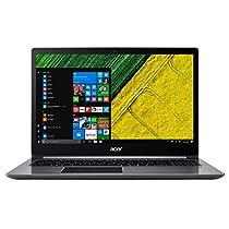 Acer SF315-51-32GD Notebook da 15.6, i3-7130U, SSD 256 MB, 4 GB, HD Graphics 620, Argento [Layout Italiano]