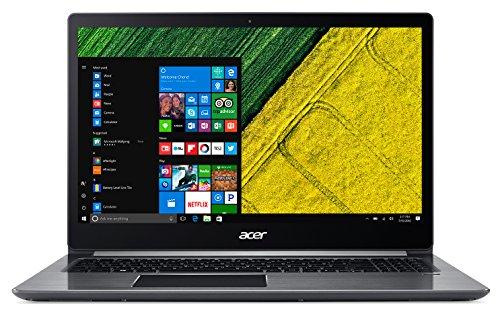 Acer Swift 3 SF315-51-32GD Notebook con Processore Intel Core i3-7130U, RAM 4 GB DDR4, 256 GB SSD, Windows 10 Home, Display 15.6″ FHD IPS LCD, Silver