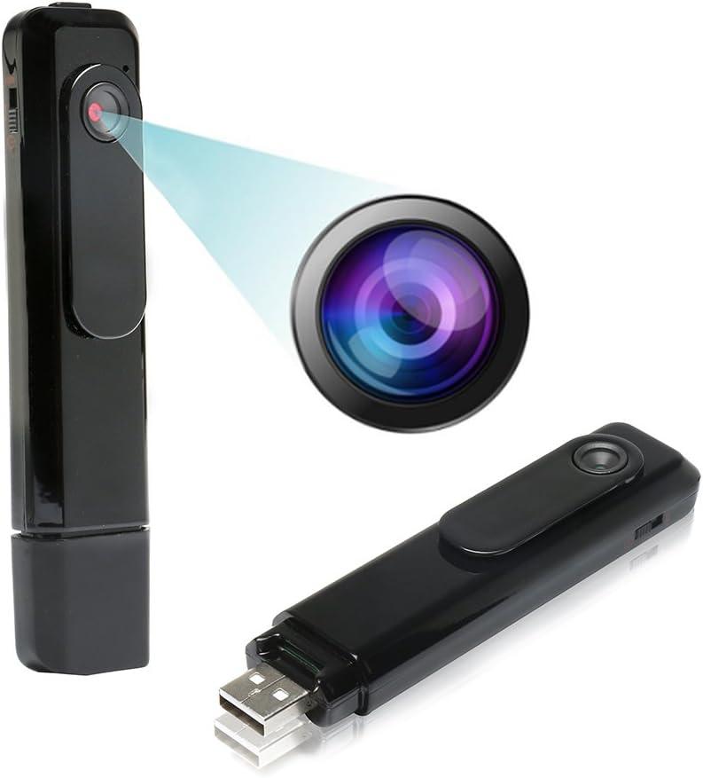 Vanz/® Videocamera digitale a forma di penna con registratore vocale memorizzazione tramite USB con funzione scrittura 4 GB