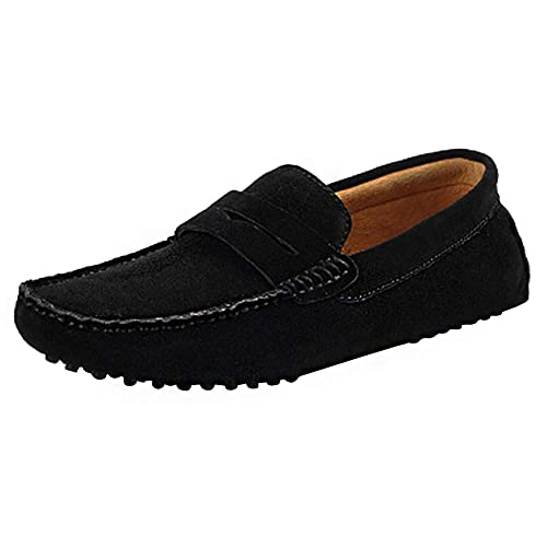 rismart Hombre Resbalones Conduciendo Un Auto Loafer Flats Mocasines Zapatos: Amazon.es: Zapatos y complementos