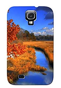 Galaxy S4 Case, Premium Protective Case With Awesome Look - Hammonasset Beach State Park (gift For Christmas)
