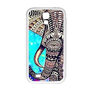 Beautiful flowers elephant Cell Phone Case for Samsung Galaxy S4
