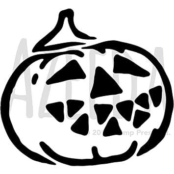 Azeeda A4 \'Calabaza de Halloween\' Plantilla de Pared / Estarcir ...