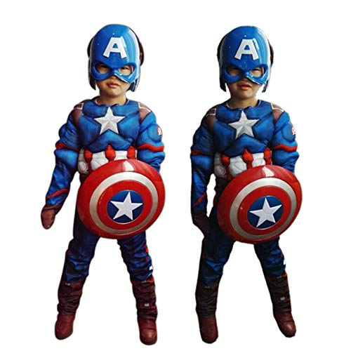 MEET Captain America Classic Muscle Costume (Small) Blue ... - http://coolthings.us