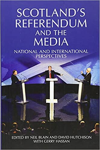 Book Scotland's Referendum and the Media: National and International Perspectives