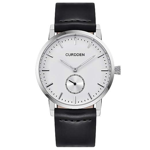 ... de Cuarzo Reloj de Pulsera Redondo Hombres de Negocios Clásica Hombres, Mujeres, niños, niñas, Bonitos Relojes Elegantes Watches: Amazon.es: Relojes