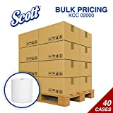 Scott® 02000 Hard Roll Towels, 8 x 950ft, 1 3/4'' Core, White, 6 Rolls/Carton - Bulk Buy 40 Cases