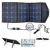 ACOPOWER 12V 105W Portable Solar Panel Kit; Foldable Solar...
