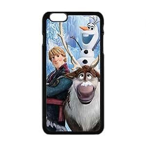 Happy Frozen fresh cartoon design Cell Phone Case for Iphone 6 Plus