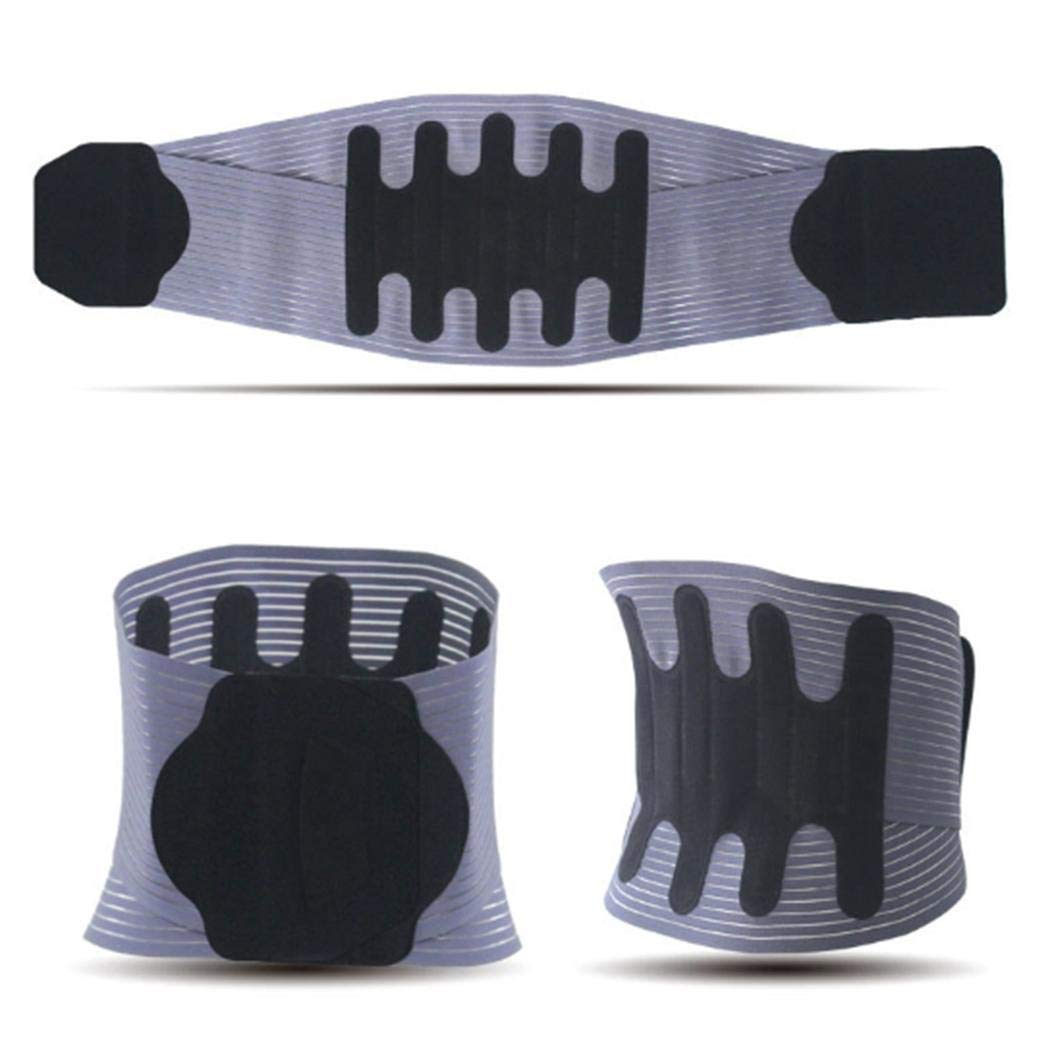Kindes Adjustable Steel Plate Belt Lumbar intervertebral disc Waist Breathable Belt Hip & Waist Supports