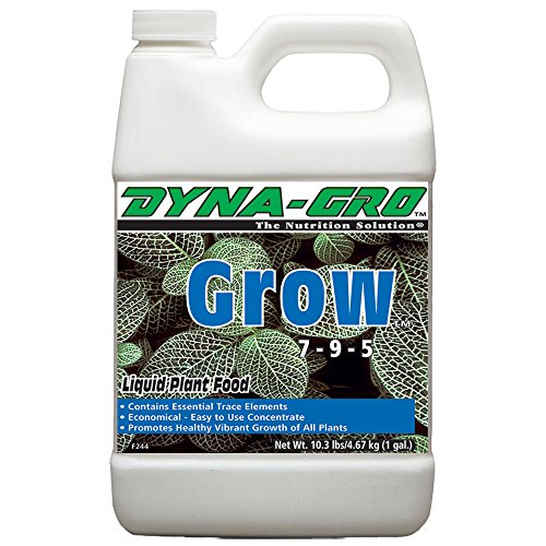 128 Plants (Dyna- Gro Grow 128 oz. Concentrated Liquid Plant Food)