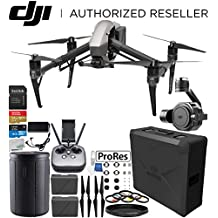 DJI Inspire 2 Quadcopter with Apple ProRes License with Zenmuse X7 Camera and 3-Axis Gimbal Bundle
