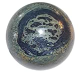 Crocodile Jasper Ball 03 Kambaba Sphere Grounding Root Heart Chakra Healing Crystal 3''
