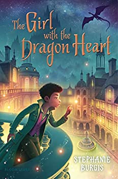 The Girl with the Dragon Heart by Stephanie Burgis fantays book reviews