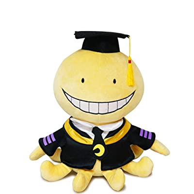 Japanese Cartoon Octopus Assassination Classroom Korosensei Plush Toy Soft Stuffed Doll 30cm Doll: Clothing