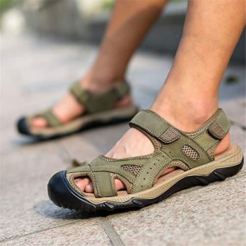 Color Sandalia CM Hombre 0 2 Verdes Deportes Antideslizante tamaño Verde Libre 0 3 42 Verde Transpirable Zapatos Y para 27 EU Al 24 Aire aawrSZq