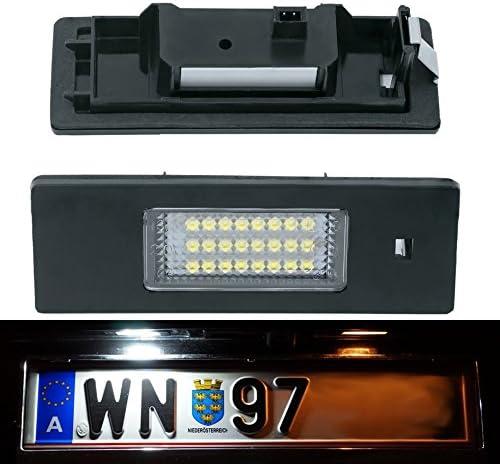 Doled X02 Led Kennzeichenbeleuchtung Mit E Prüfzeichen Xenon Optik Auto