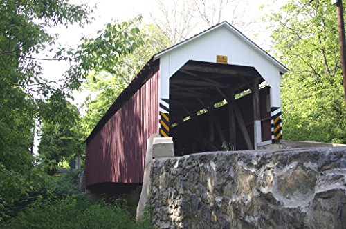 Siegrist's Mill Covered Bridge Lancaster, PA photograph by Terry Siegrist