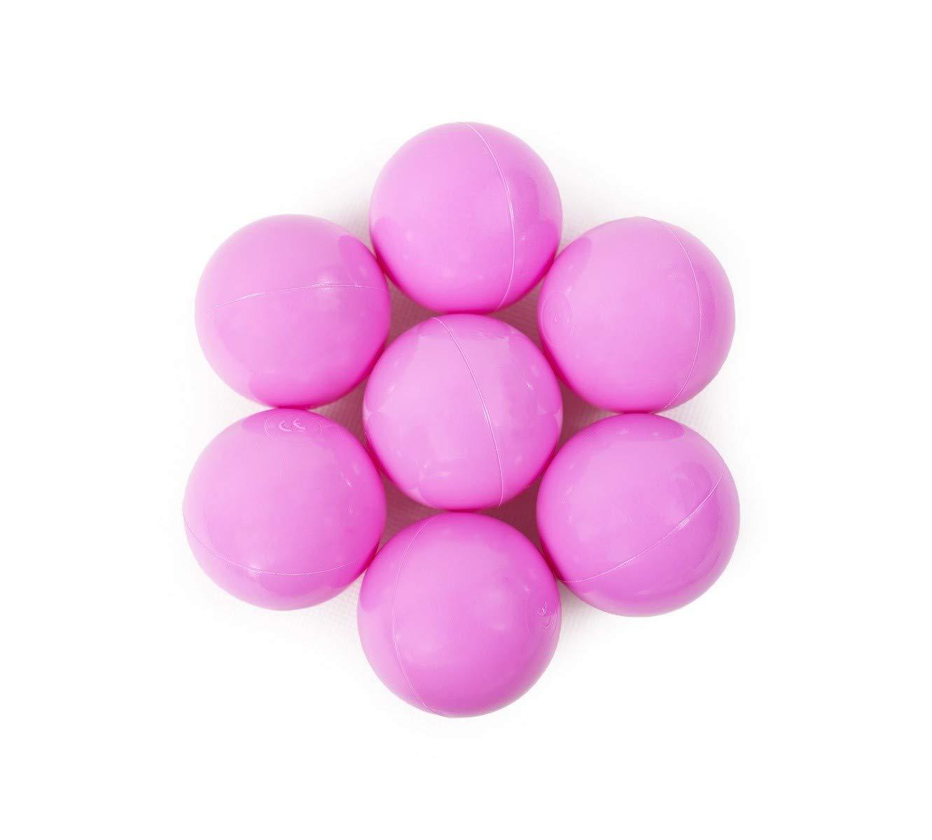 Fabriqu/é en EU Norme CE Tweepsy B/éb/é Balles pour Enfants de Piscine Bambin Balles /Ø 6 cm PPR61-50 pi/èces Beige