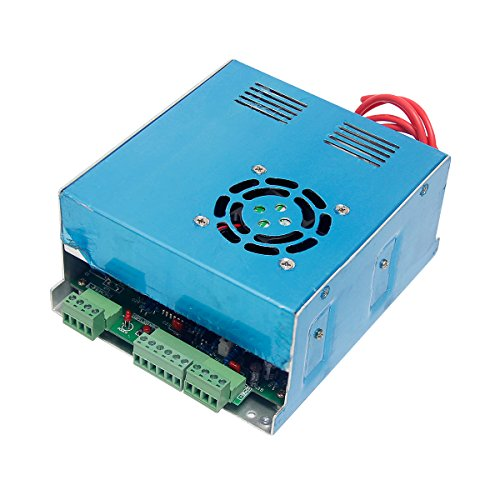 Wisamic 40W PSU Laser Power Supply for CO2 Laser Engraver Cutter Machine MYJG by Wisamic