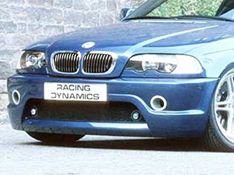 Racing dinámica 121.12.46.201 Tornado Alerón Frontal, BMW E46 Coupé/Cabrio/Sedán: Amazon.es: Coche y moto