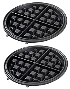 Replacement Plates for Secura 360 Rotating Belgian Waffle Maker KS-308