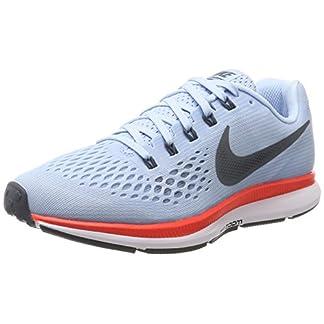 Nike WMNS Air Zoom Pegasus 34 880560-404 Ice Blue/Crimson Women's Running Shoes (7)