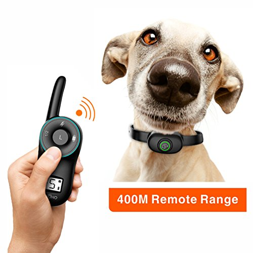 PEDONO Dog Training Collar,1300ft Remote Dog Shock Collar,100% Waterproof and Rechargeable with Beep/Vibra/Electric Shock E-Collar for Small Medium Large Dogs (10 lbs or 100 lbs)(Black) Review