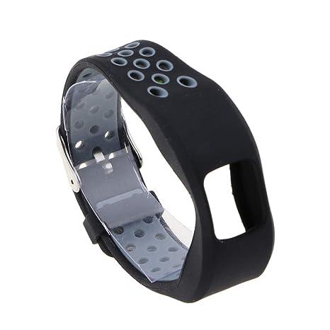 Baoblaze Accesorios de Correa Repuesto de Silicona Suave de Relojes Inteligentes para Garmin Vivofit 4 -