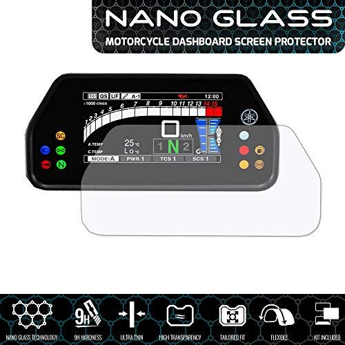 Speedo Angels SAYA7NG1 Nano Glass Screen Protector voor Yamaha 900 Tracer Gt (2018+), 1 x Ultra Clear