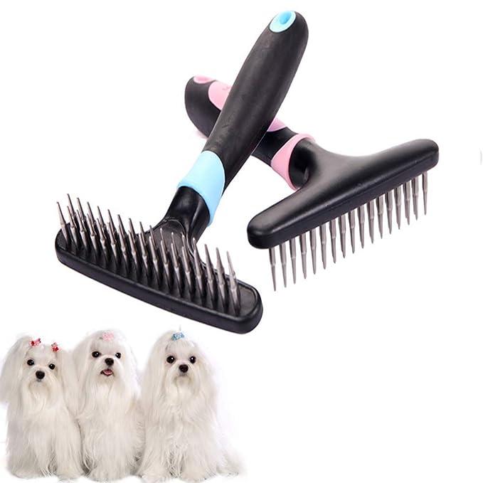 DUOBANGS Cepillo para Gatos Cepillo Gato Cepillo para Perros ...