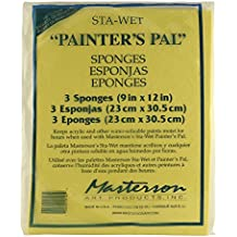 Masterson Sta-Wet Painters Pal Palette Painters Pal sponge refills pack of 3 9 in. x 12 in.